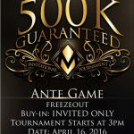 MIDAS POKER CLUB PRESENTS 500k Guaranteed Tournament